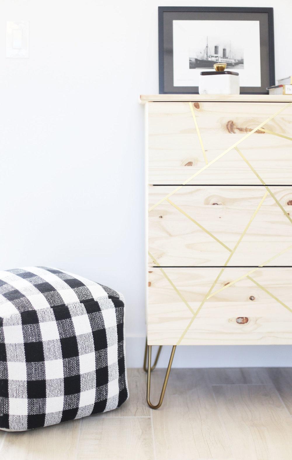 IKEA hacks dresser
