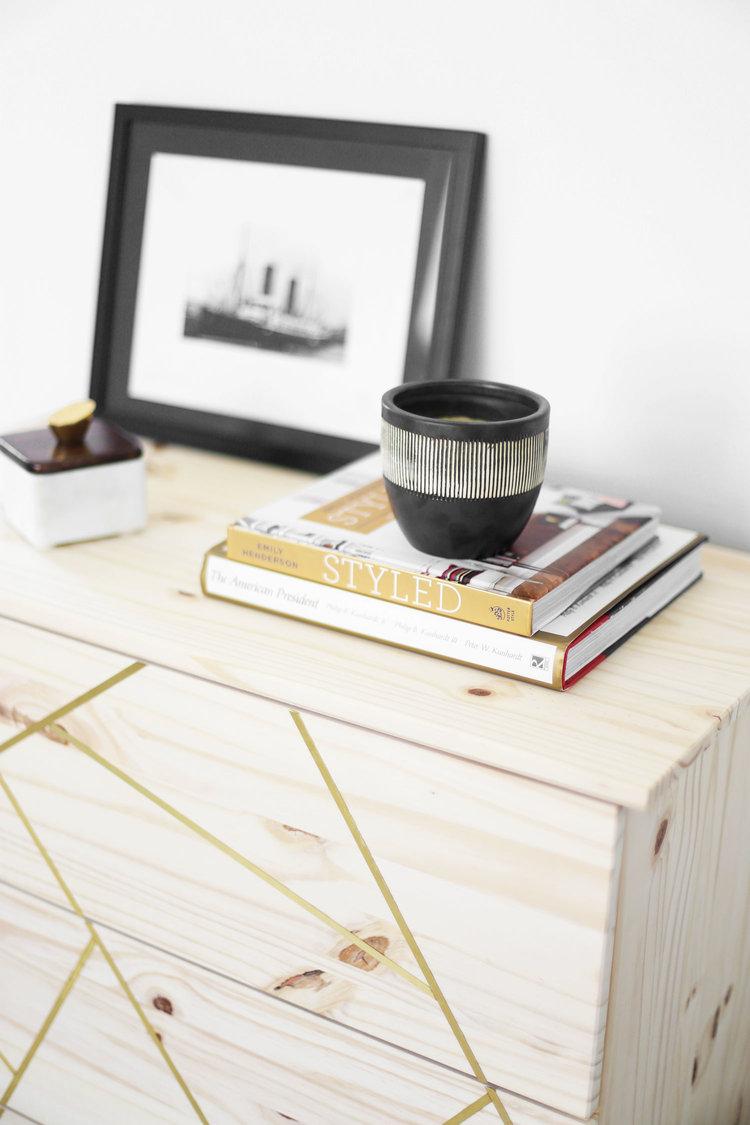 Mid Century Modern IKEA Hack Dresser — Kristi Murphy   Do It ...