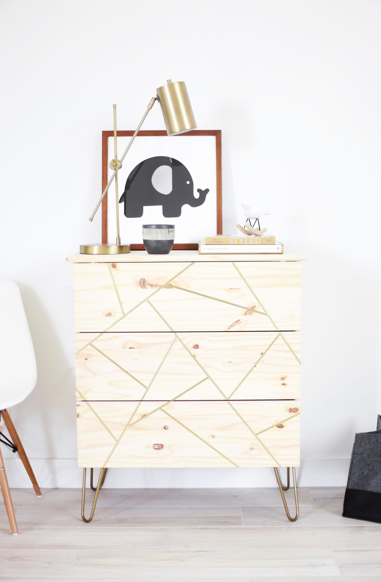 mid century modern ikea hack dresser — kristi murphy   diy blog