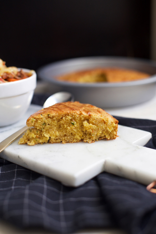 cheesy jalapeño cornbread