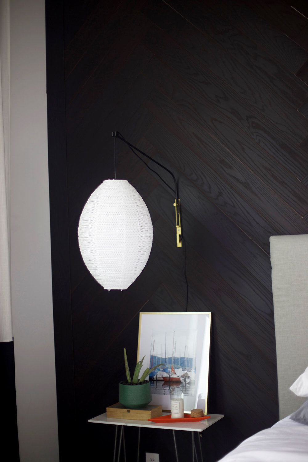 DIY wall lamp