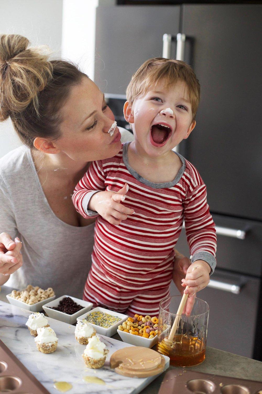 breakfast sundae bites with kids food fight