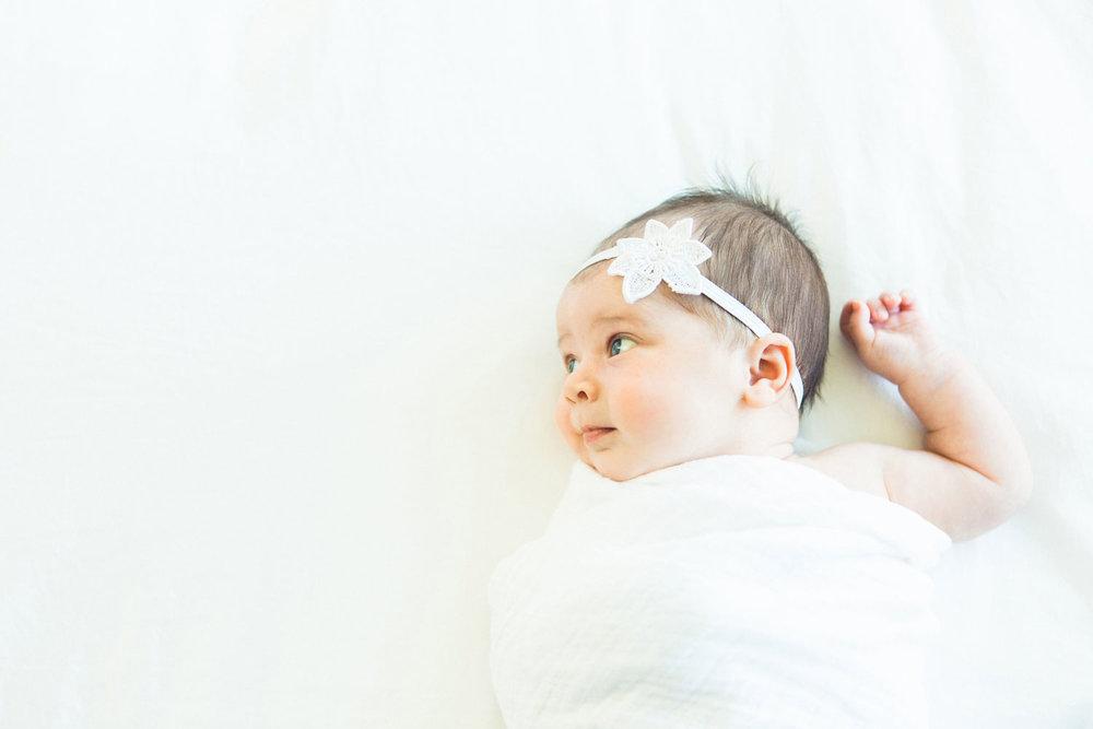 newborn pics baby girl