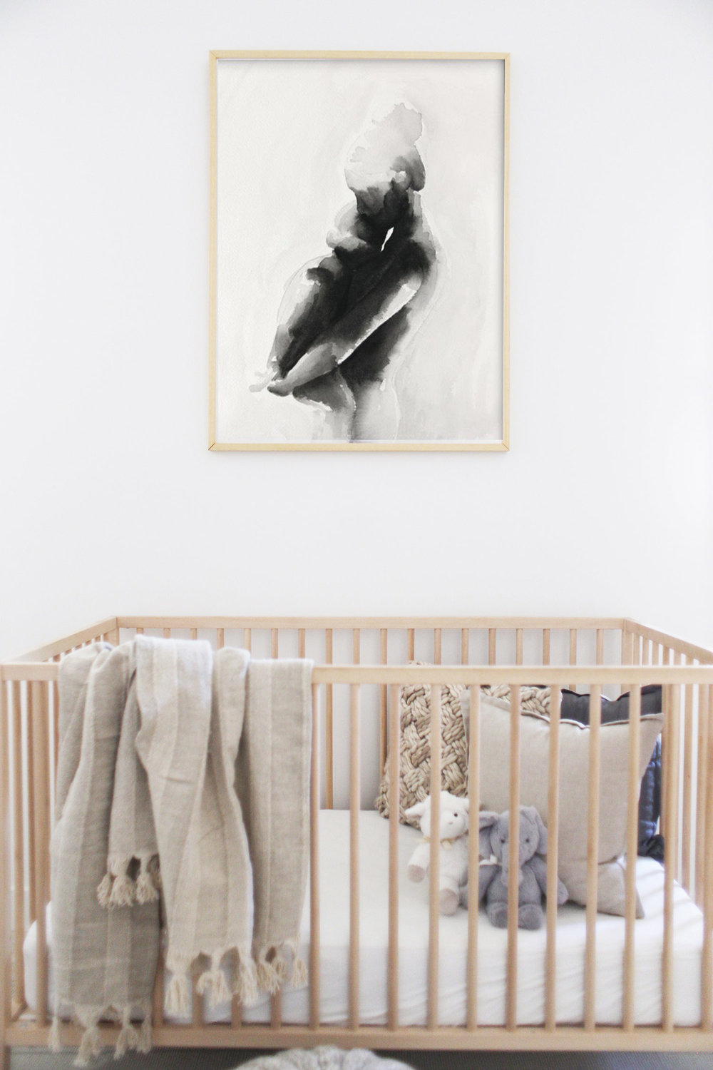 choosing nursery art