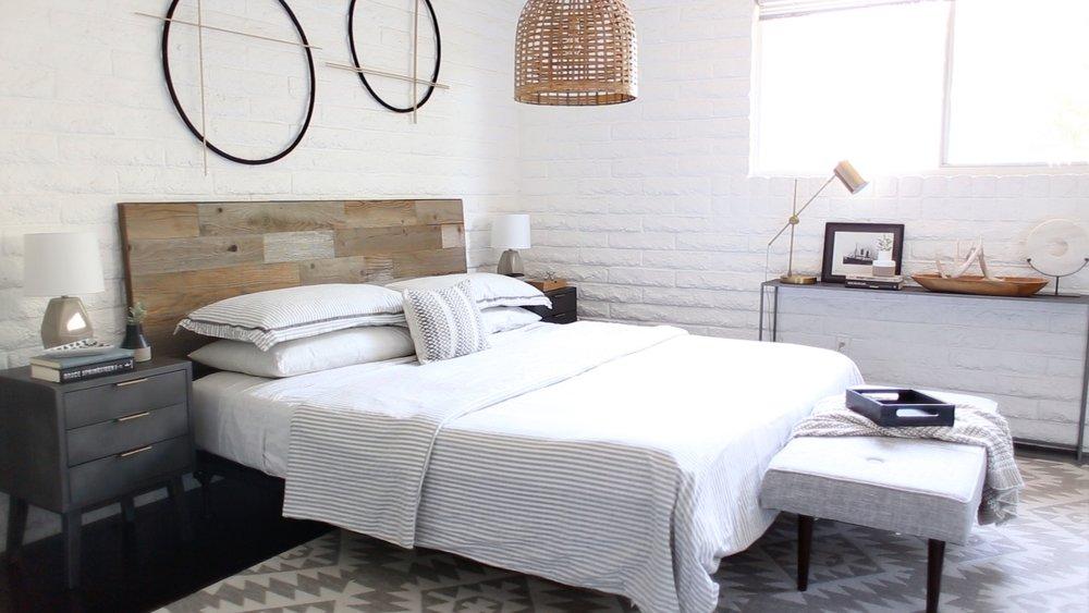 master bedroom makeover after