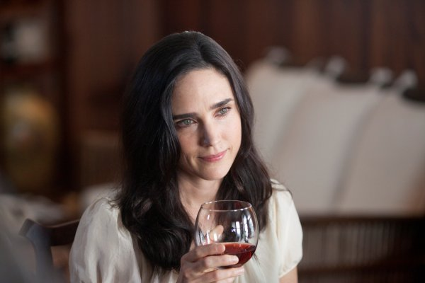 The wife in question. The beautiful Jennifer Connelly.