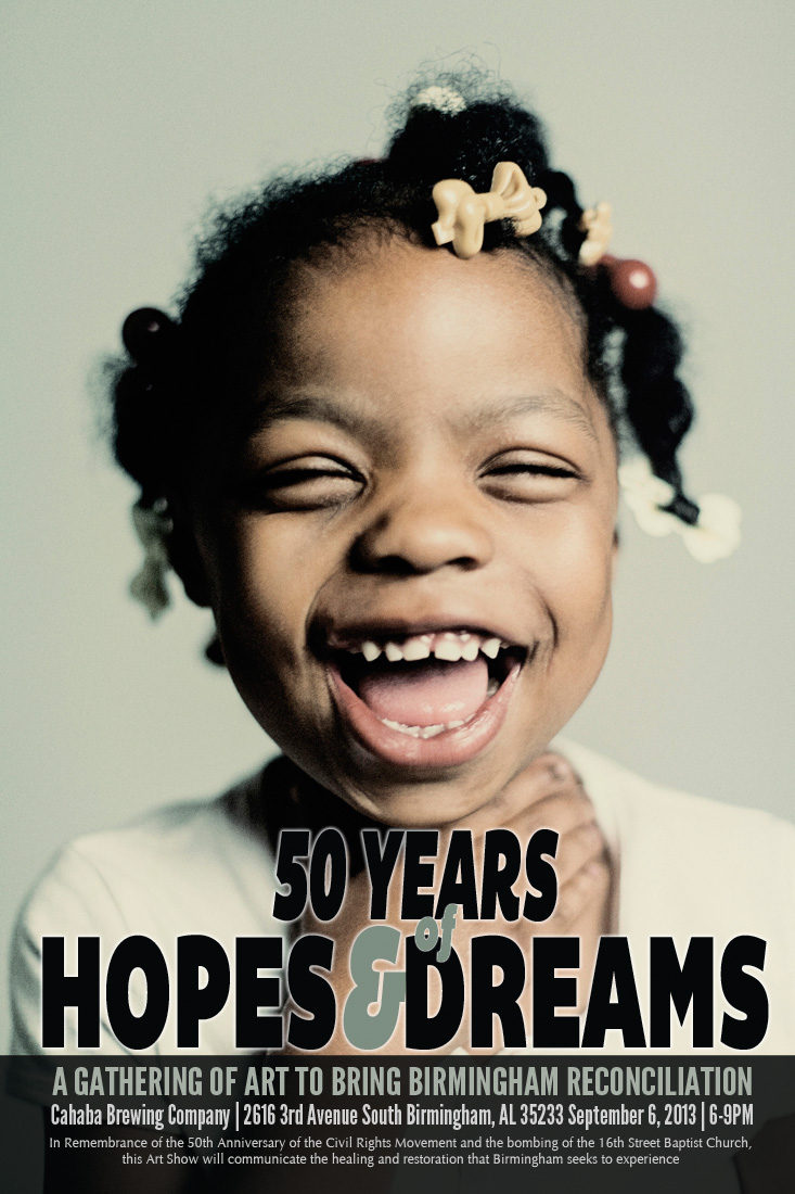 Our first official event: 50 years of Hopes and Dreams Art Show and Prayer Breakfast