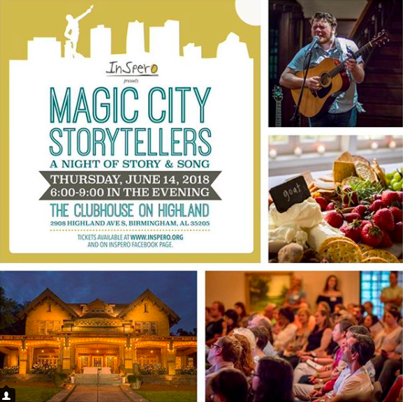 Photos from last year's Magic City Storytellers event by Pete Collins