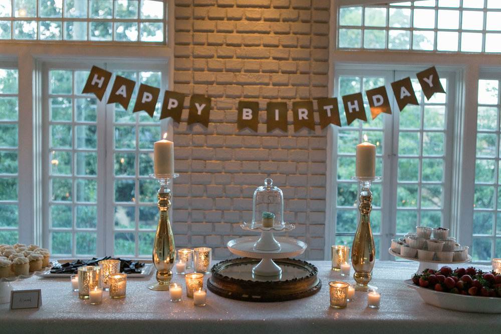Hospitality offered by Christi Wilson and Elizabeth Dortch and cupcakes by Dreamcakes own Aaron Conrad. Photo by    Emily Kicklighter