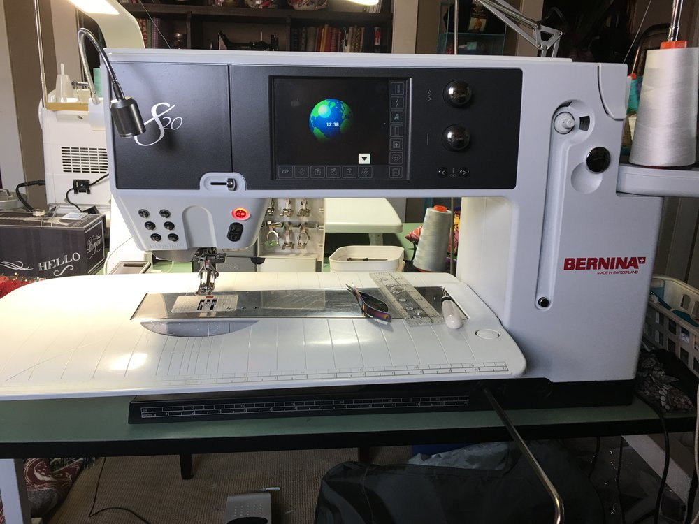Bernina 8 Series: 820