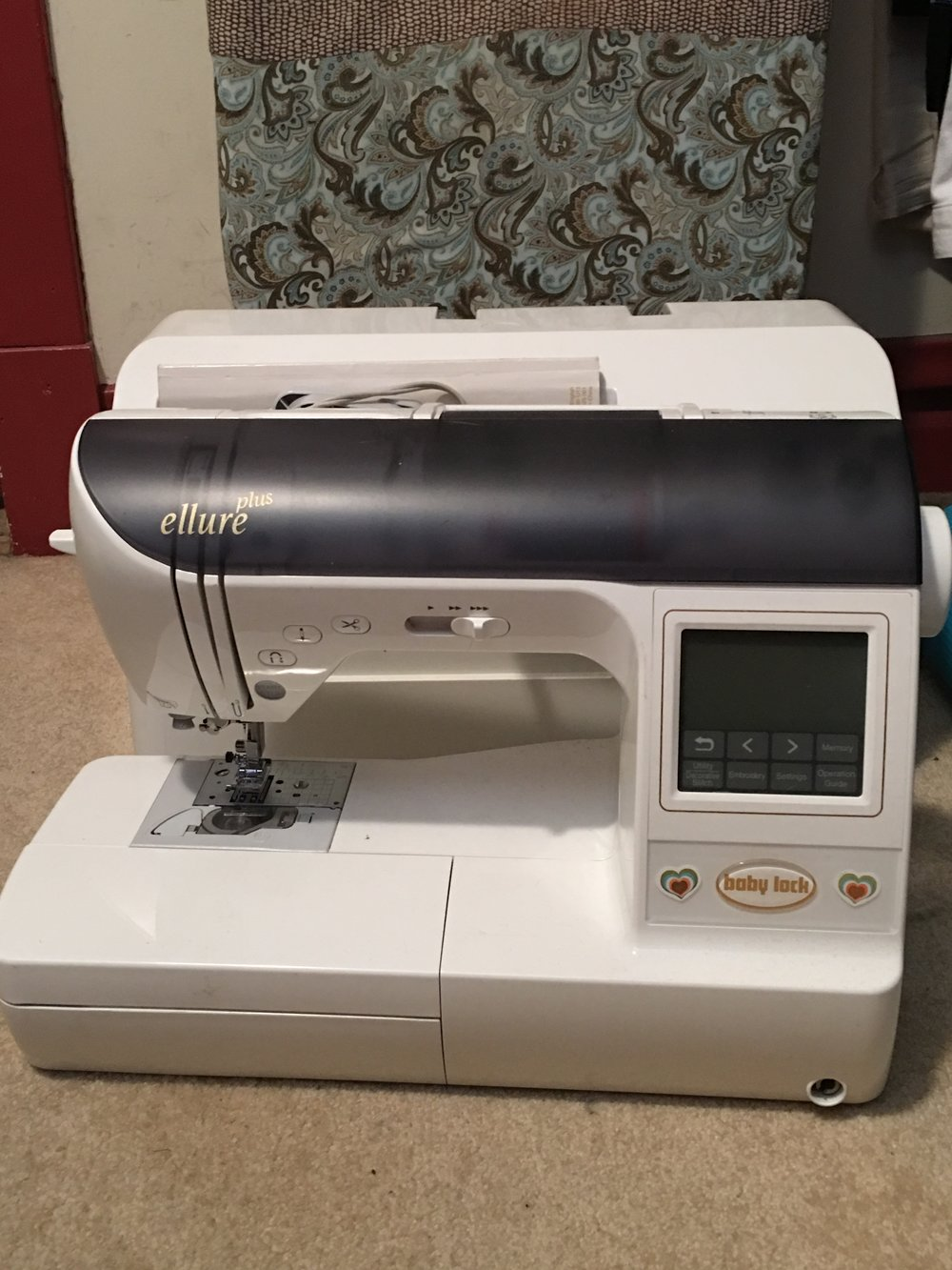 Babylock Ellure Plus Sewing/Embroidery Machine