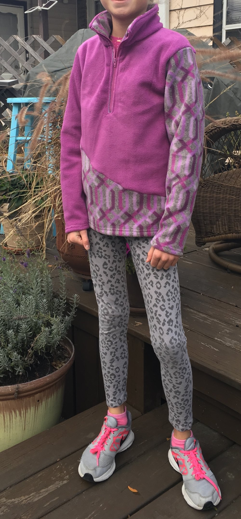 Ava's K2 Kids Fleece Pullover