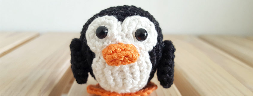 Puck the Penguin Pattern by Irene of Sugaridoo