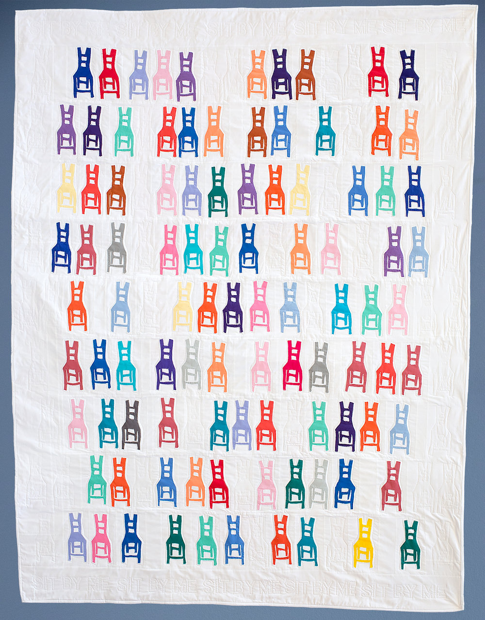 Sit-In Quilt by Frances Dowell will be at QuiltCon 2019!!