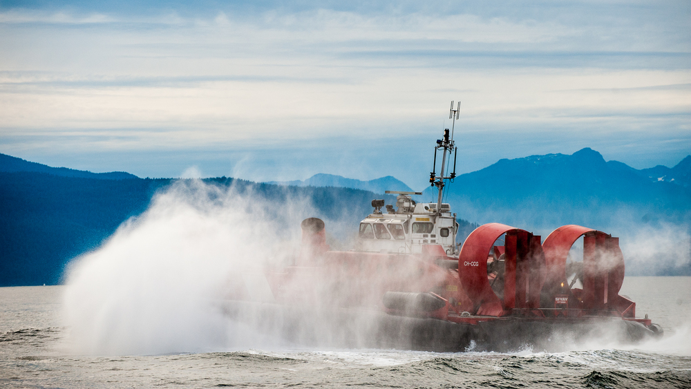 Coast Guard Hovercraft