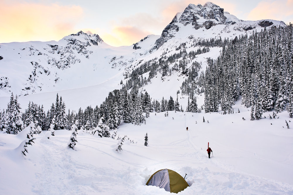 Joffre Alpine Touring Camp