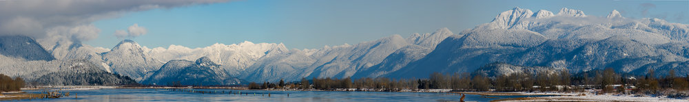 Snowfall on Golden Ears