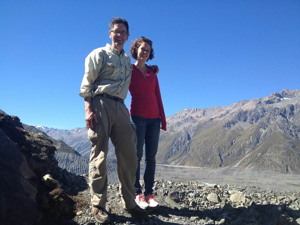 Tom and Karen, part of the Agribotix team, are all smiles after a successful mission!