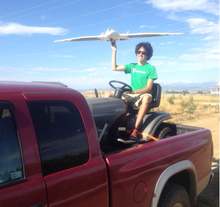 Ryan's launch system doesn't quite boast the same safety and reliability record that the Agribotix Hornet bungee system does.