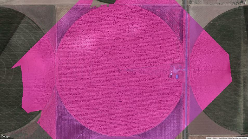 Agribotix Color Infrared