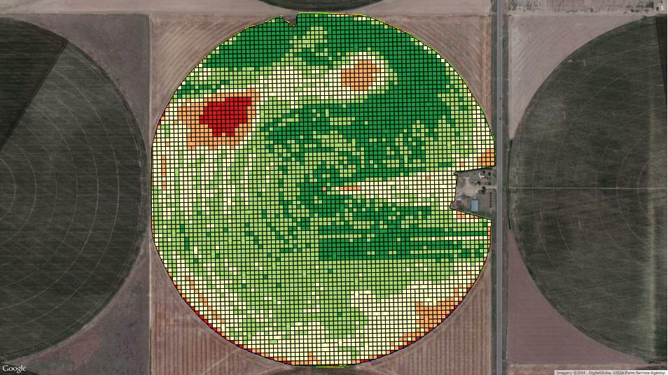 Agribotix Management Zone Map