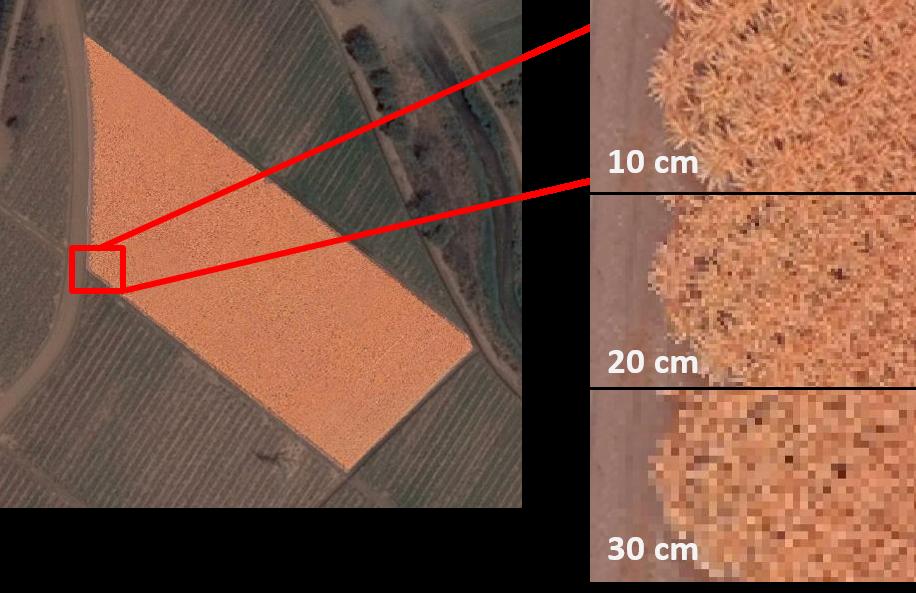 drone image resolution