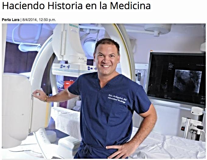 Haciendo Historia en la Medicina. Latinoamérica recibió premio por una investigación clínica.