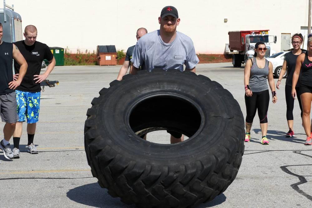 Dan. Tire flips.