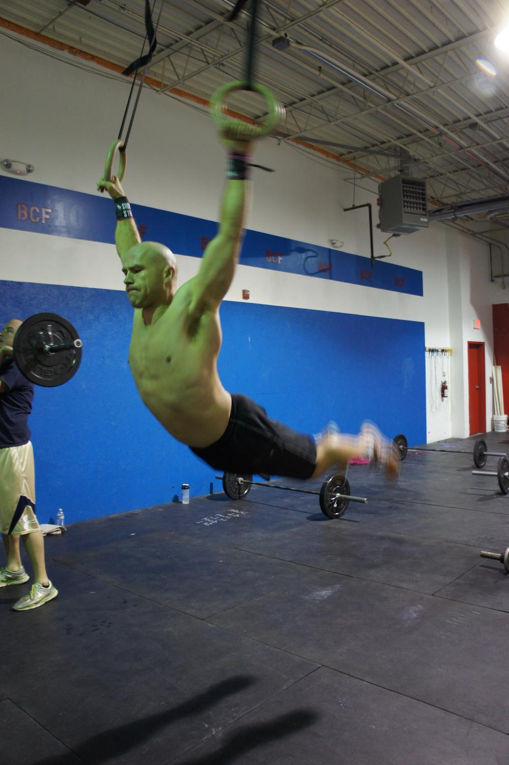Joe. Muscle up