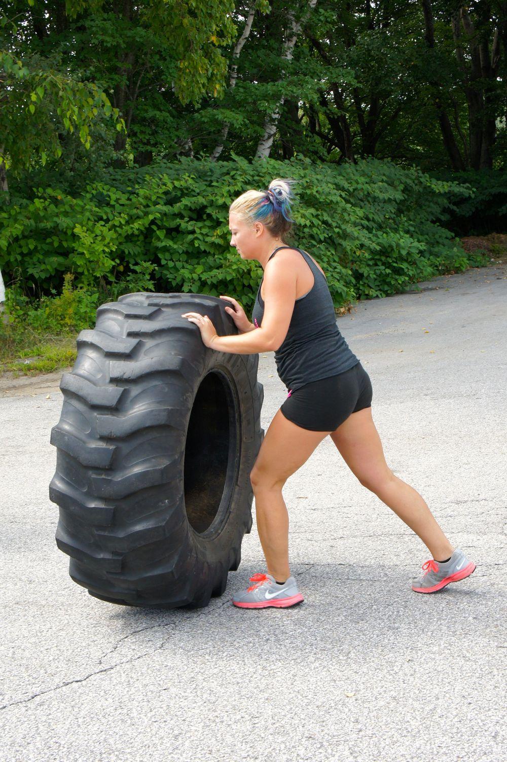 Meg. Tire flips