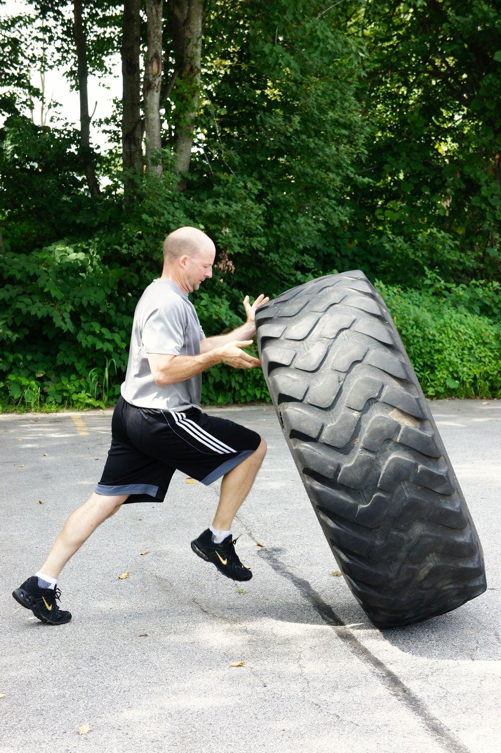 Mark. Tire flips