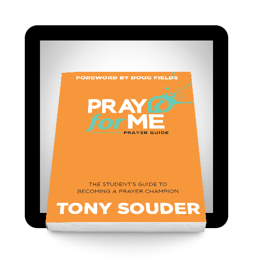 Grab a Prayer Guide. -