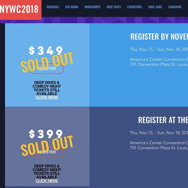 We still have a ticket available for #NYWC2018 this week! Asking $99 for it! Don't miss the amazing experience - DM us or send an email to maryelizabeth@theyouthnetwork.org