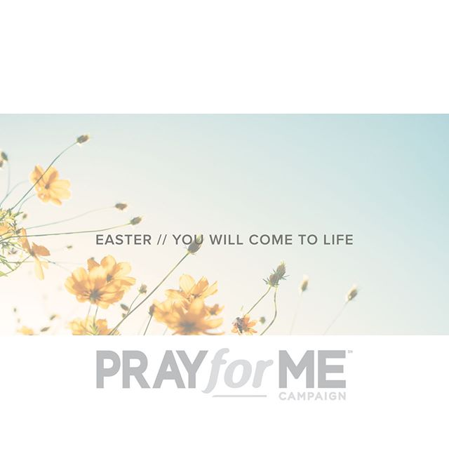 From our family at the #PrayforMeCampaign, we hope that you had an amazing #Easter and your hearts are full of the truth and blessing that HE HAS RISEN!