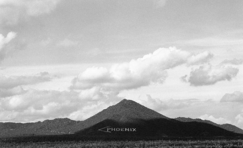Phoenix Mountain   Gelatin Silver Print © 2009, Gina DeGideo