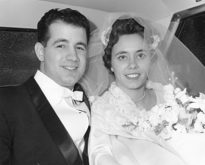 My Grandparents on Their Wedding Day, January 12, 1963  © Gina DeGideo