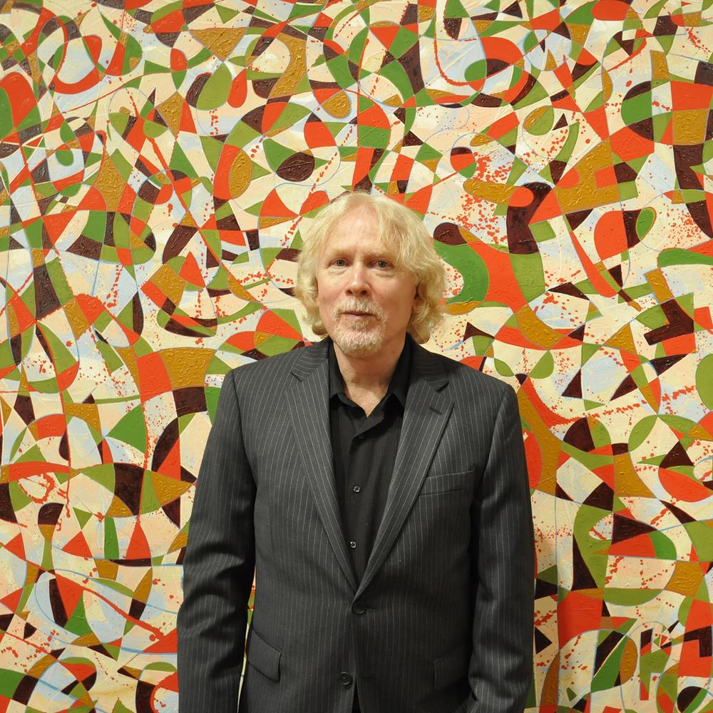 "Bruce Thorn, 2013   24"" x 24"""