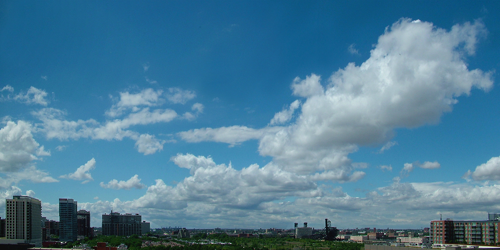 "June Cloud, Chicago, 2011  26"" x 48"""