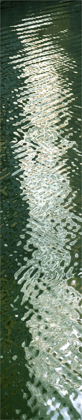 "River Light No. 4, 2002 76"" x 18"""