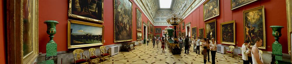 "Hermitage Museum No.1, 2006 19"" x 72"""