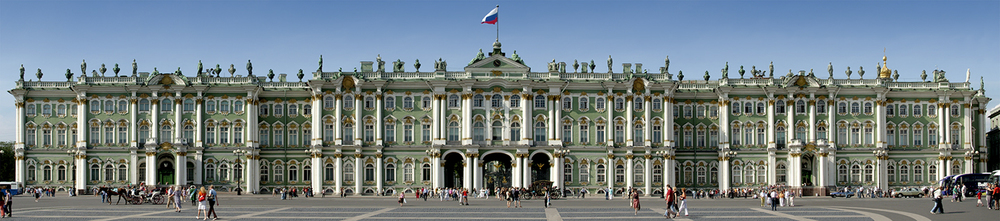 "Winter Palace, 2006 19"" x 72"""