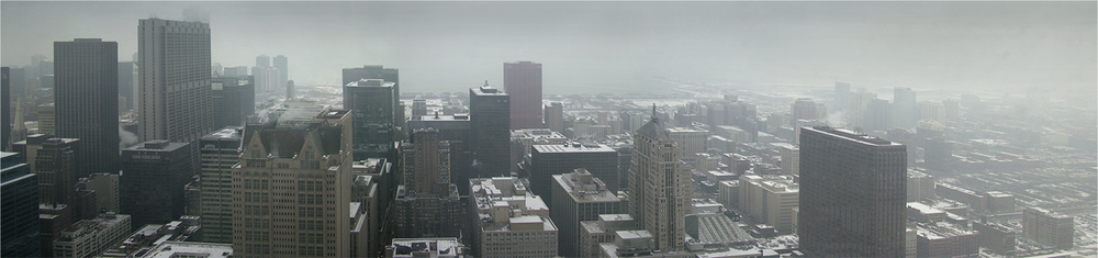 "Chicago Snow No.1, 2009   20"" x 72"""