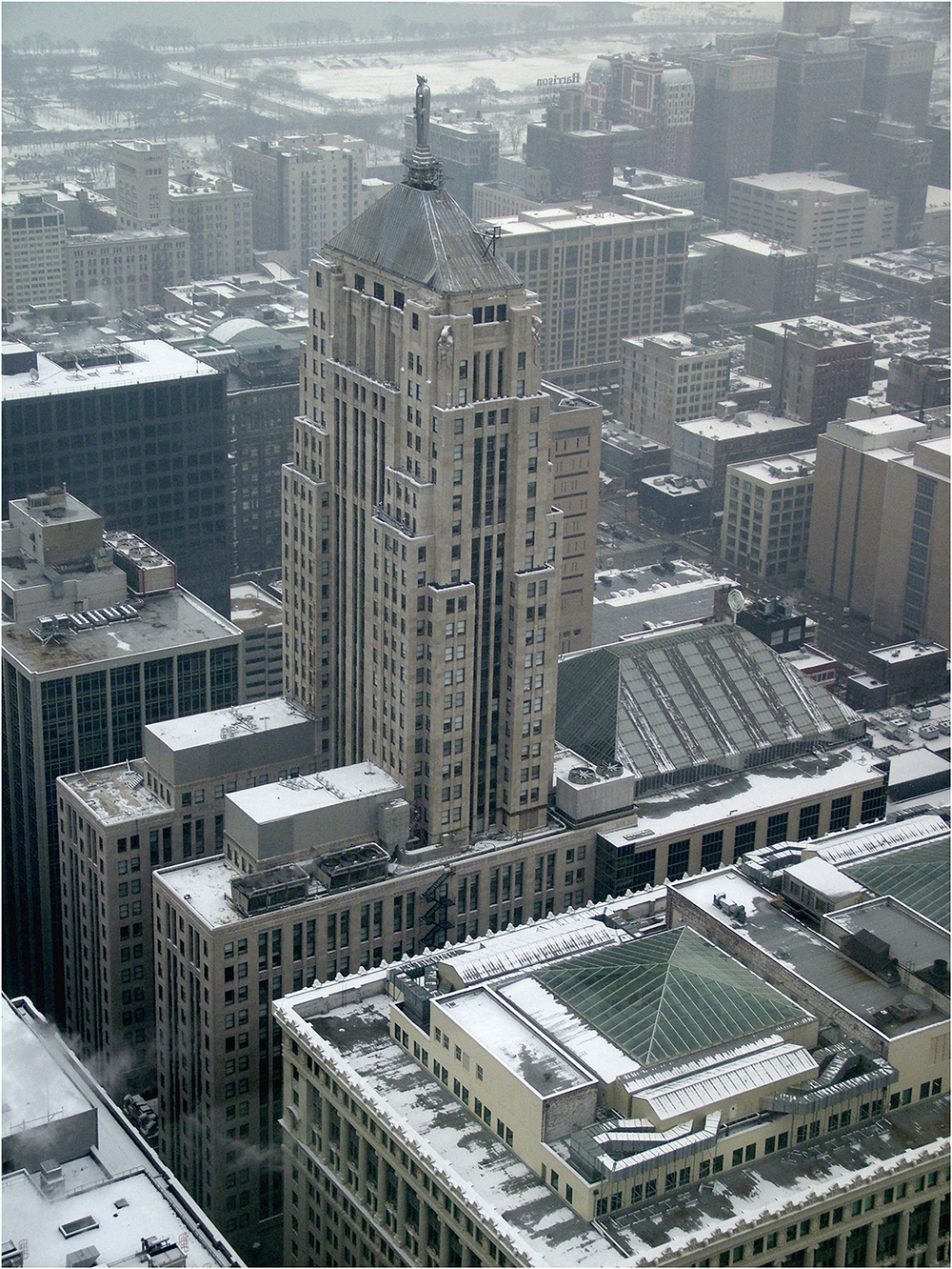 "Chicago Snow No.1, 2009   28"" x 22"""