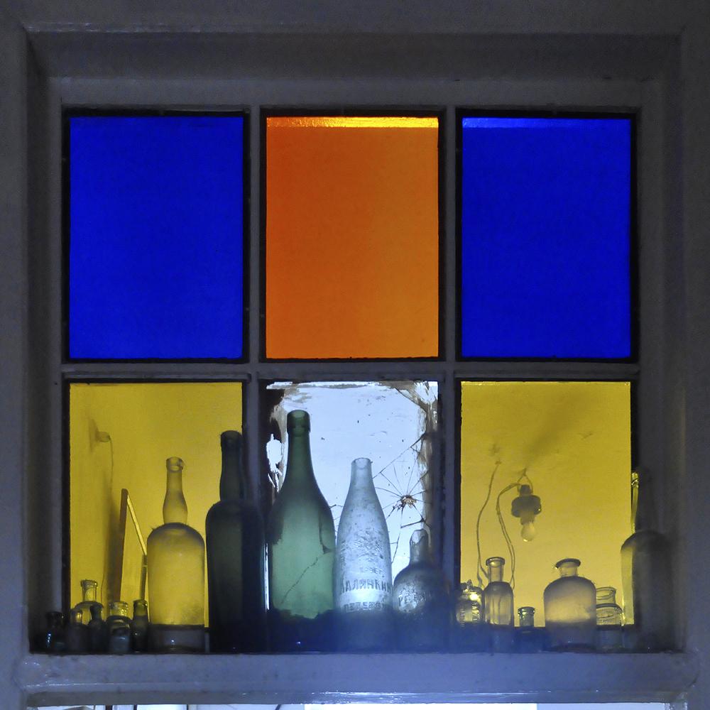 """Semenov's Studio Transom, 2011  20"""" x 20"""""""