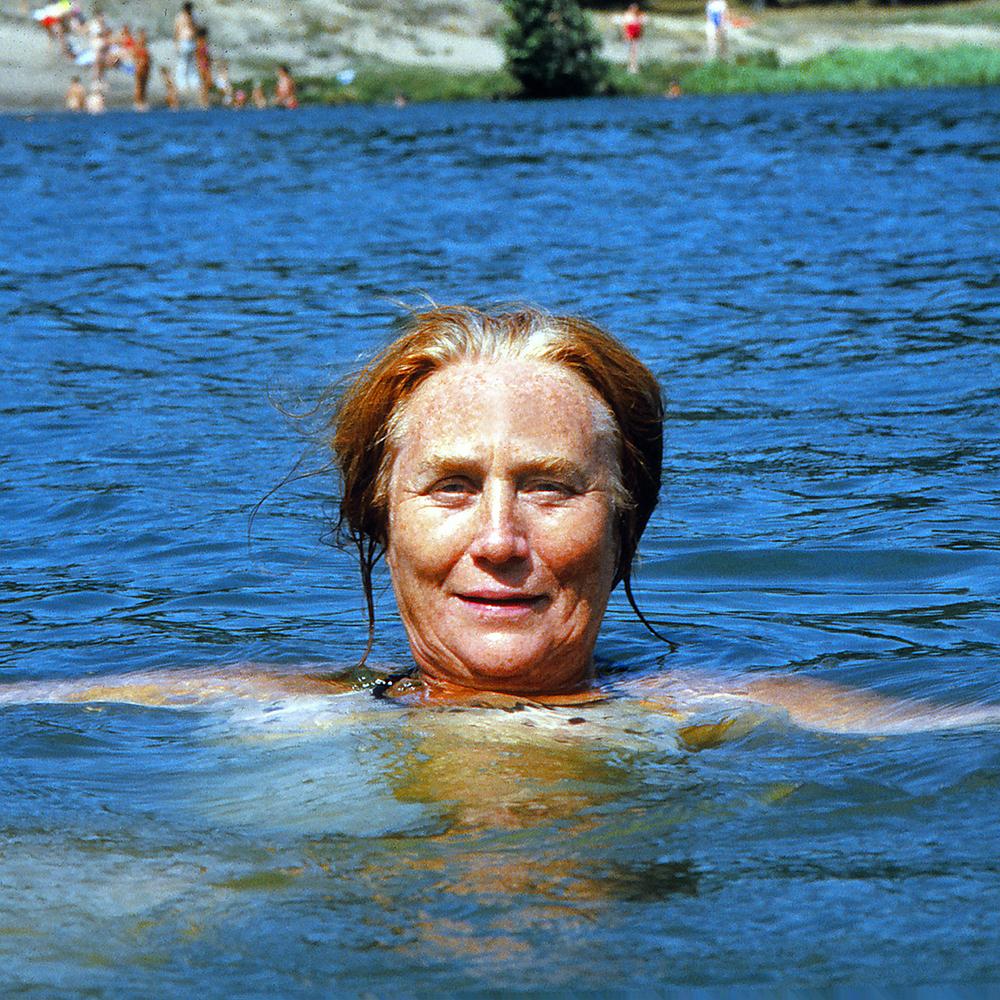 "Rosa Timchenko, 1992  24"" x 24"""