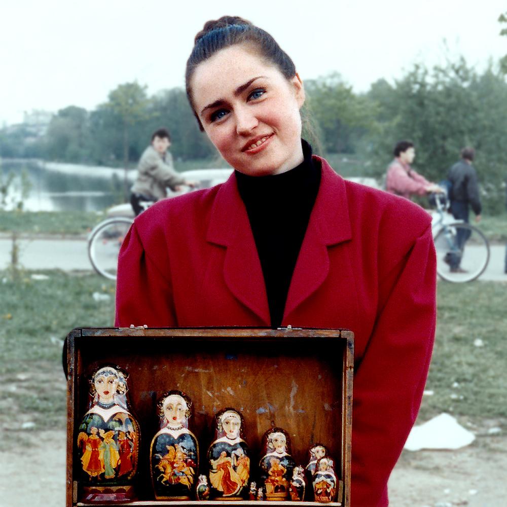 """Yulia Talman, 1992  24"""" x 24"""""""