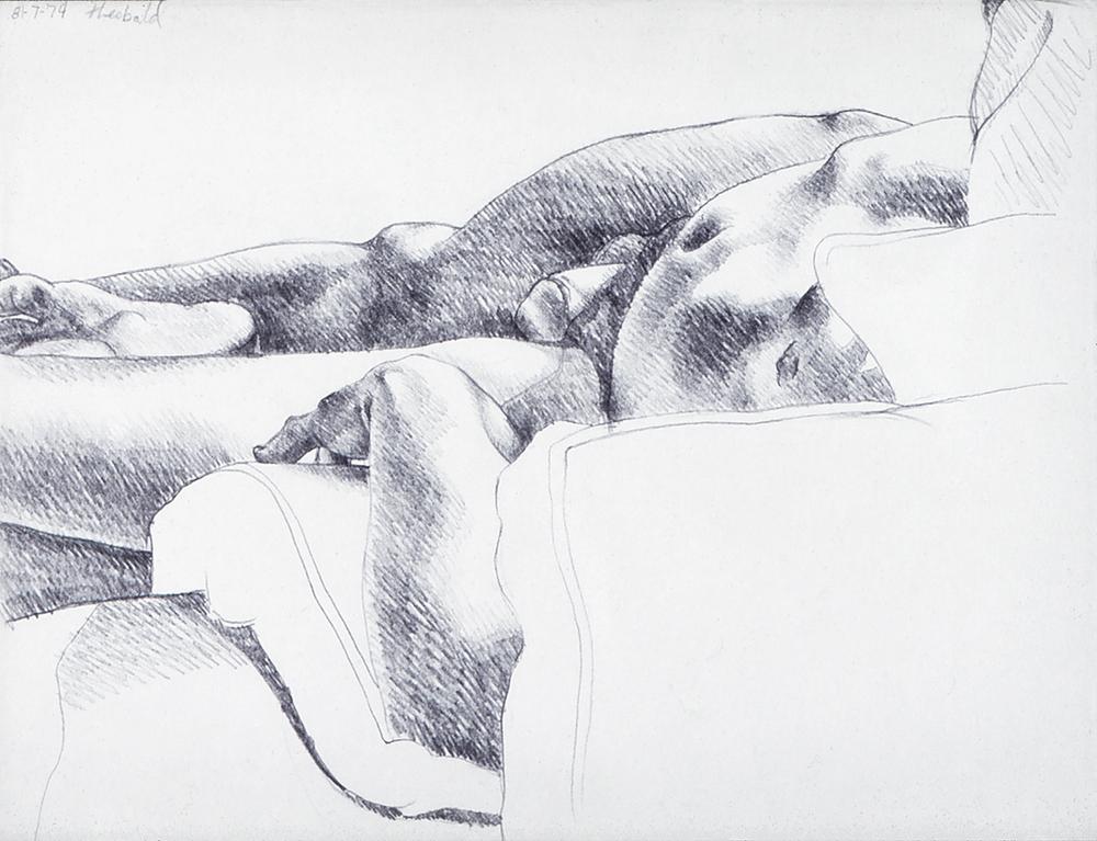 8.7.74, 1974  Pencil