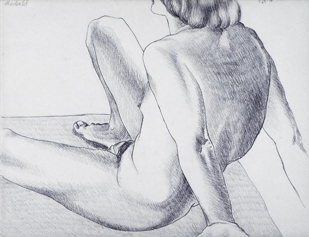 9.25.74 I, 1974  Pencil