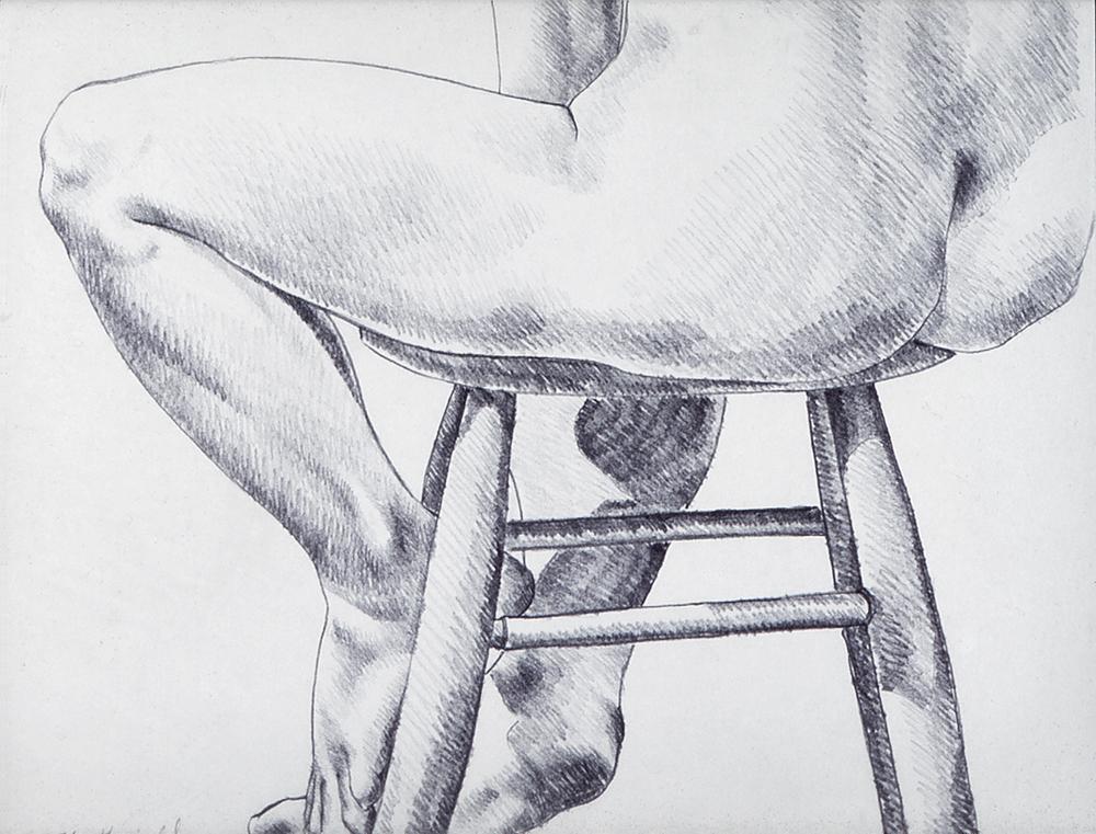 10.2.74, 1974  Pencil