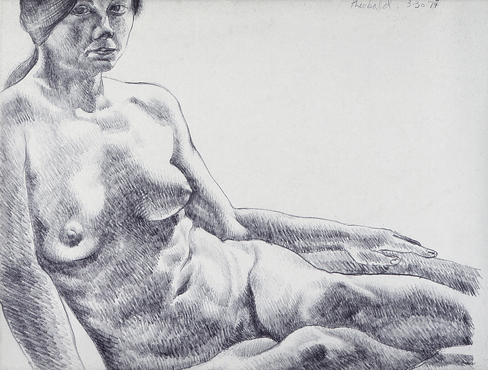 3.30.74 I, 1974  Pencil